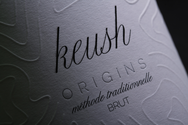 label close-up